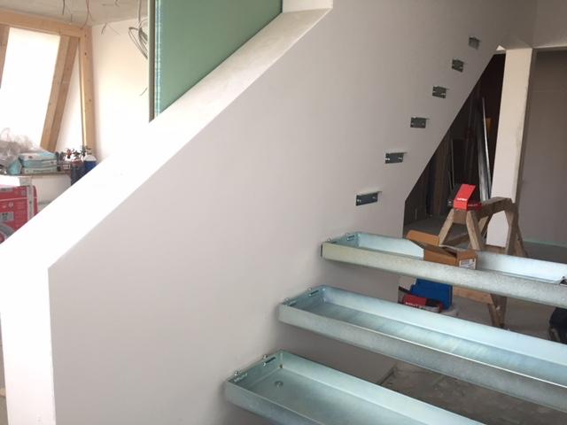 Treppeneinfassung Stiegenaufgang Schlosserei Graßmair Rinn