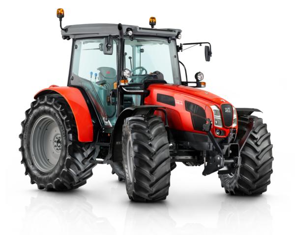 Same Traktor rot