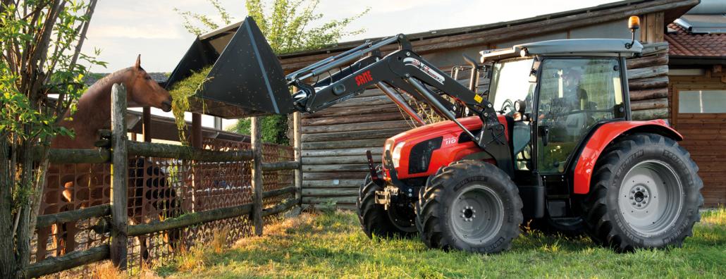 Same Traktor im Einsatz