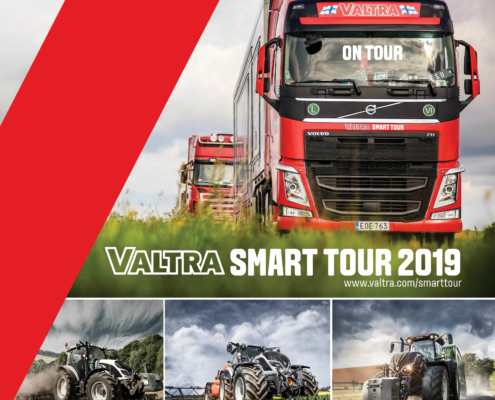 Trucks on Tour mit Valtra Traktoren
