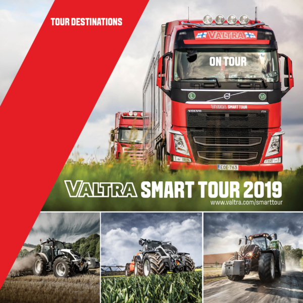 Trucks on Tour mit Valtra Traktoren